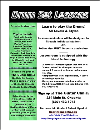 Click for full size lesson flier